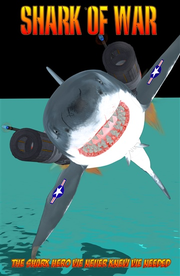Shark of War Mini Comic Book