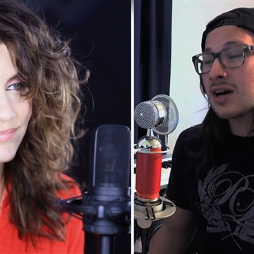 Maria Z : Mariah Carey ft Miguel- #Beautiful (Maria Z & Michael Castro acoustic cover)