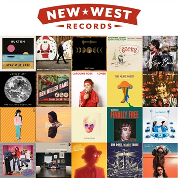 New West Records : 2018 New West Records New Releases Sampler