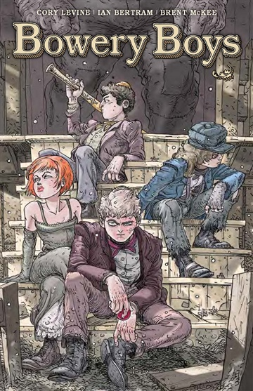 Cory Levine : Bowery Boys Book One