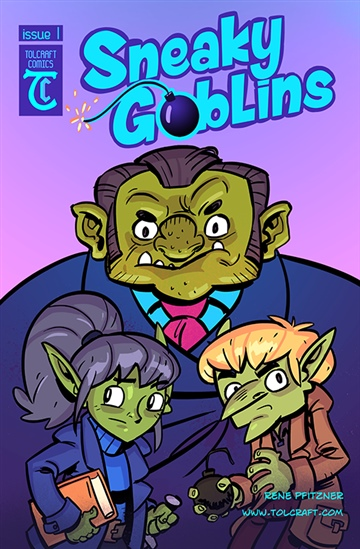 Sneaky Goblins Issue One