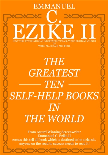 Emmanuel C. Ezike II : The Greatest Ten Self-Help Books In The World