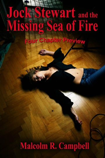 Malcolm R. Campbell : PREVIEW Jock Stewart and the Missing Sea of Fire