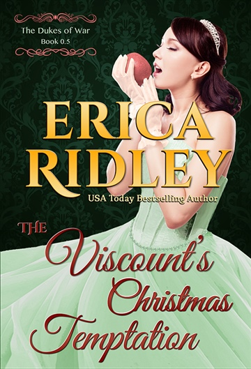 Erica Ridley : The Viscount's Christmas Temptation