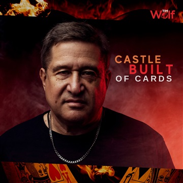 Castle Built of Cards by Tim Wolf