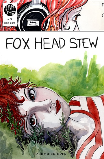 Fox Head Stew #0 by Jamaica Dyer