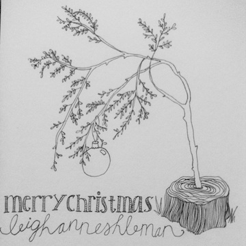 Merry Christmas by Leigh-Ann Eshleman