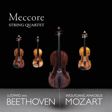 Mozart & Beethoven - String Quartets by Meccore String Quartet