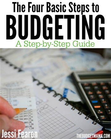 Jessi Fearon : The Four Basic Steps to Budgeting