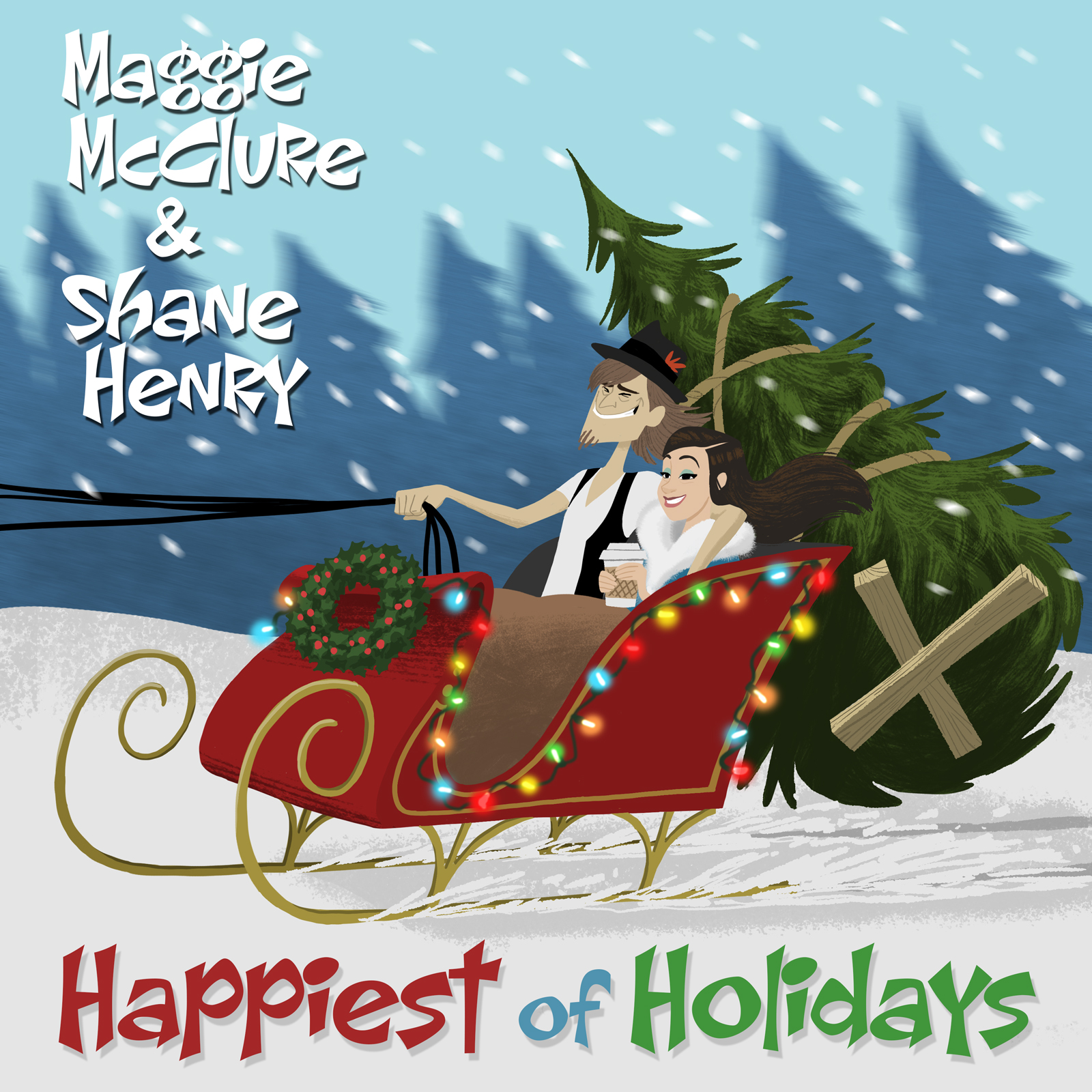 Happiest of Holidays (Maggie McClure & Shane Henry) by Maggie McClure