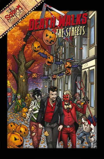 James Zahn : DEATH WALKS THE STREETS #1: A New Marshall Fall (Halloween)