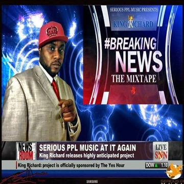 Breaking News Hosted by DJ Siege  by King Richard