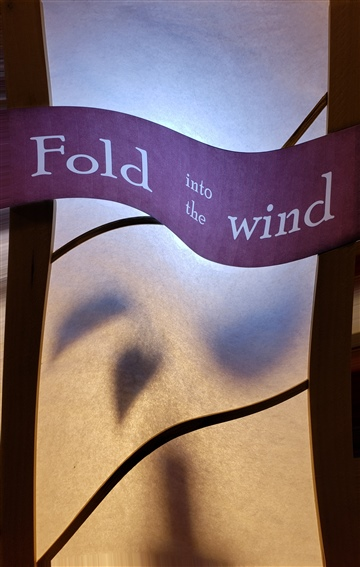 Fold into the wind