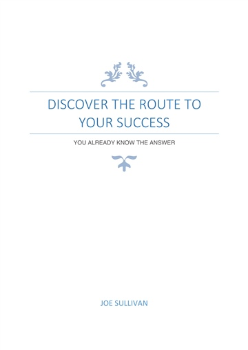 Joe Sullivan : Discover The Route To Your Success