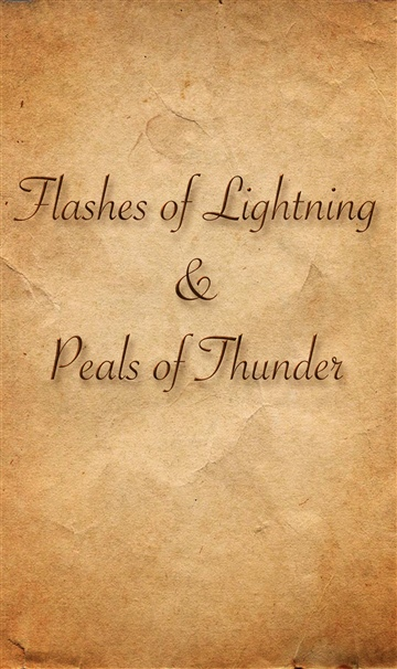 Flashes of Lightning and Peals of Thunder by Marc Alvarez