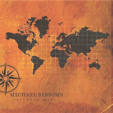 Tattered Map by Michael Sessoms
