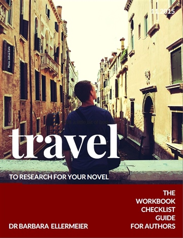 Travel to research for your novel