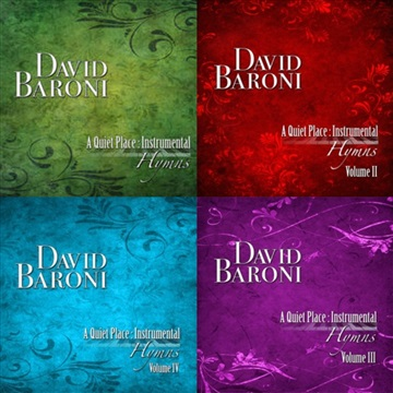 David Baroni : Songs From A Quiet Place Instrumental Hymns Series