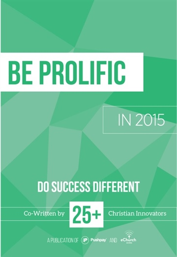Be Prolific by Nicole Love Halbrooks Vaughn