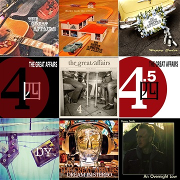 """The Great Affairs+ """"2016 SAMPLER"""" by The Great Affairs"""