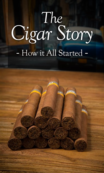 MJ Mattson : The Cigar Story: How It All Started