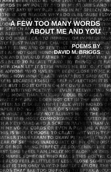 A Few Too Many Words about Me and You by David M. Briggs