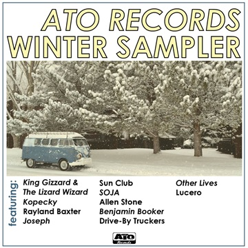 ATO Records - Winter Sampler 2016 by ATO Records