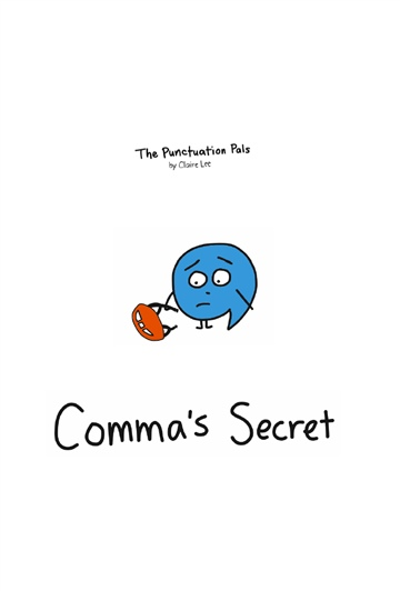The Punctuation Pals : Comma's Secret