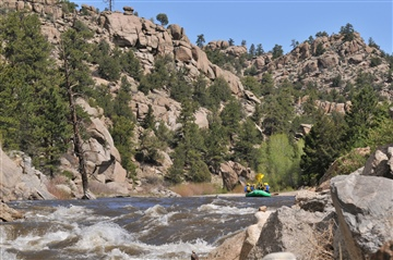 Wilderness Aware : IN A RAFT - Colorado White Water Rafting