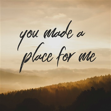 Mike Westendorf : You Made a Place For Me