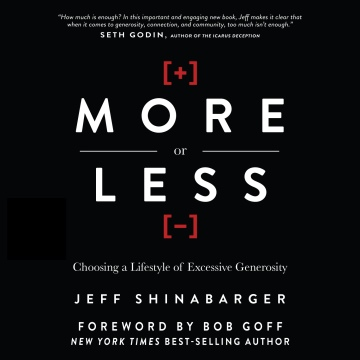 More or Less (Audiobook) by Jeff Shinabarger