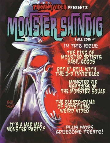 Monster Shindig Issue #1 Preview by Phantom Video