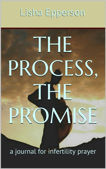 Lisha Epperson : The Process, The Promise : a journal for infertility prayer