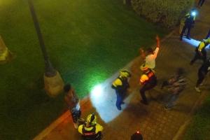 Polis cu menos detencion den Fakkel compara cu aña pasa