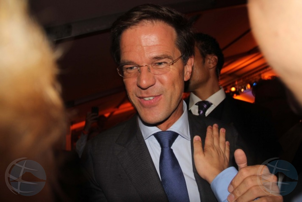 Partido VVD di Mark Rutte a gana eleccion na Hulanda