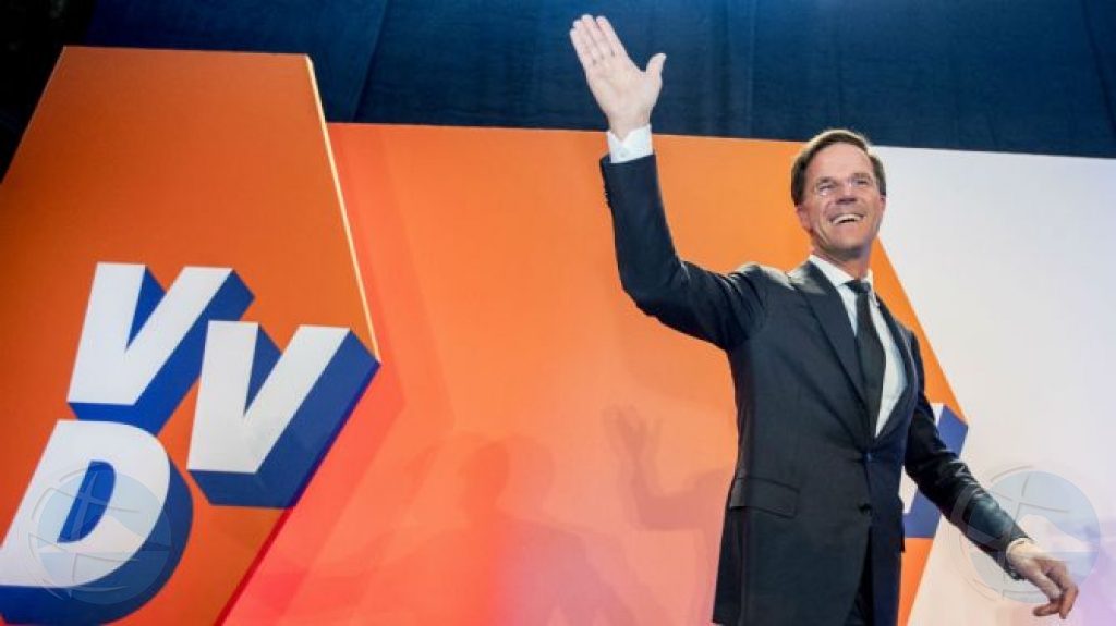 Resultado eleccion Hulanda por forza coalicion di 4 partido
