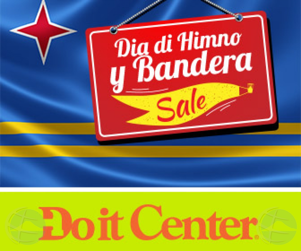 Bin celebra cu Do it Center dia di Himno & Bandera!