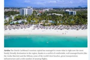 Caribbean Journal: Aruba destinacion #1 pa pasa vacacion cu famia