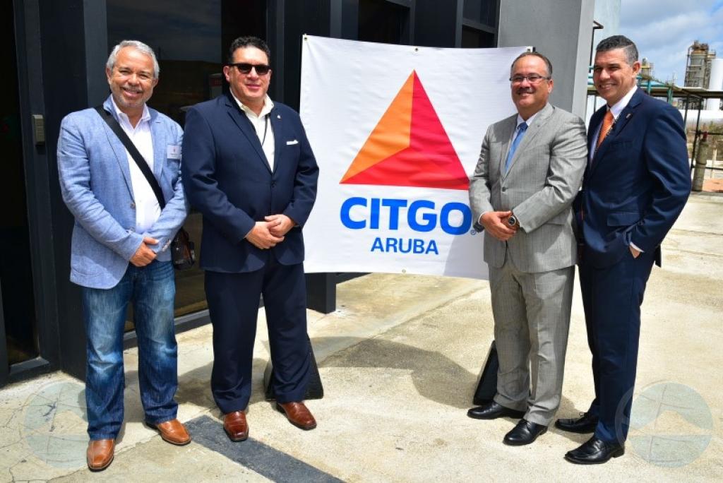 De Meza: CITGO a aproba placa pa rehabilita refineria caba