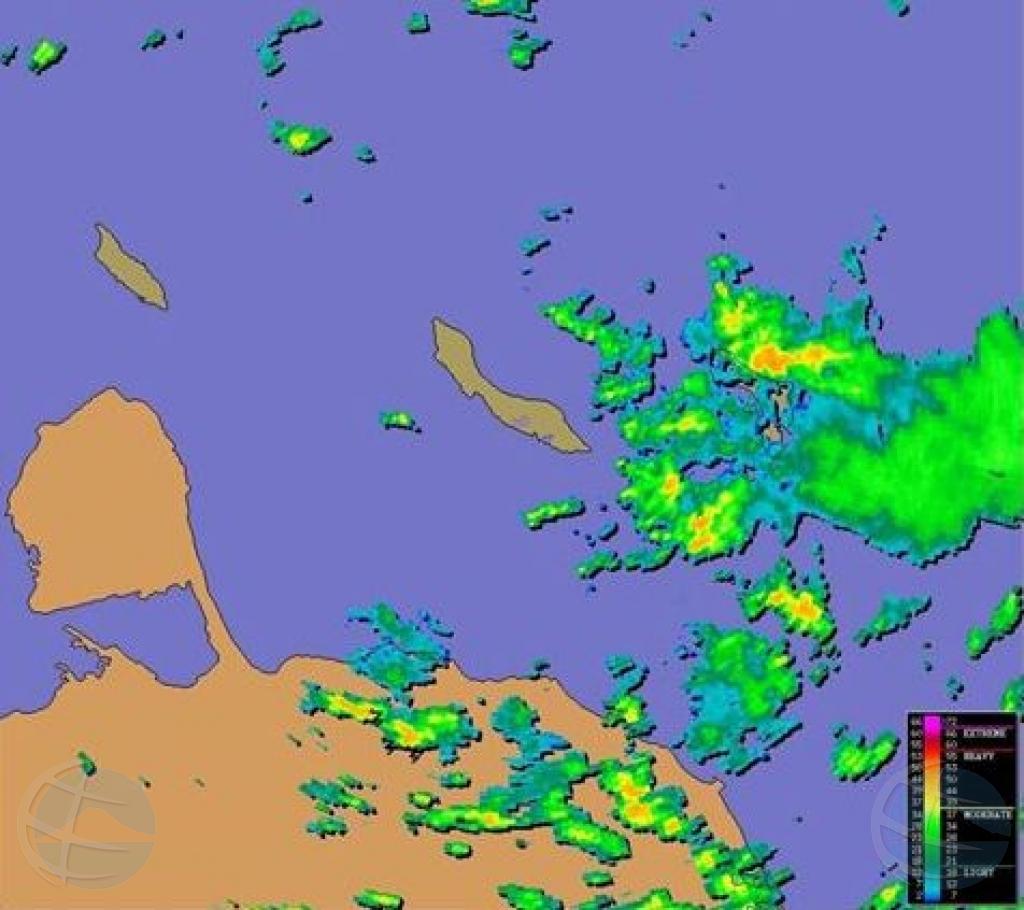 METEO: Ola tropical por influencia nos tempo awe nochi