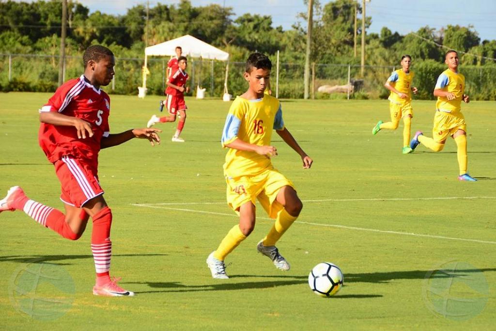 Cayman Islands ta gana Aruba 3-2 den wega U-15
