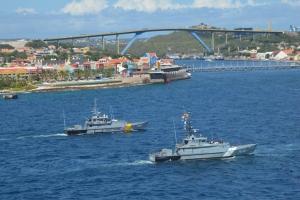 Wardacosta Caribe Hulandes a termina ehercisio cu Venezuela