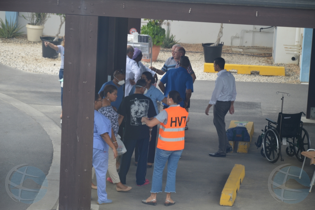 Derame di diesel na hospital a causa evacuacion mayor