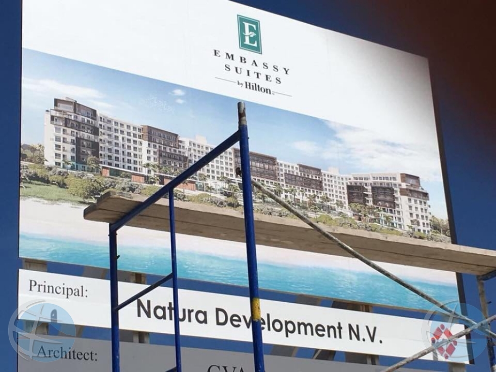 Infrastructure minister wants advice on Embassy Suites hotel project