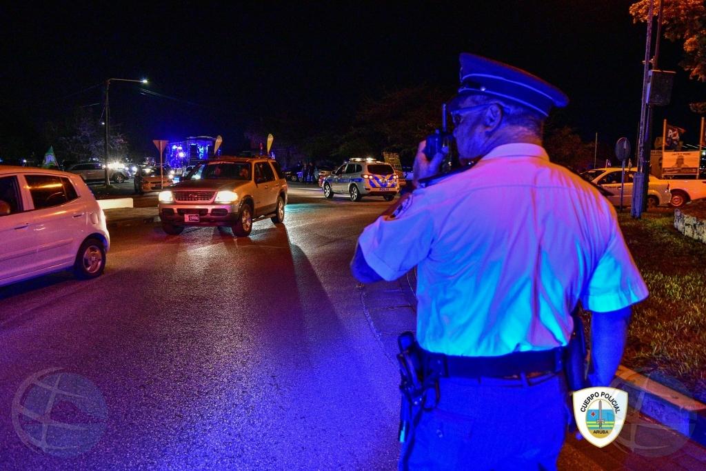 Total di 24 detencion durante parada di Fakkel