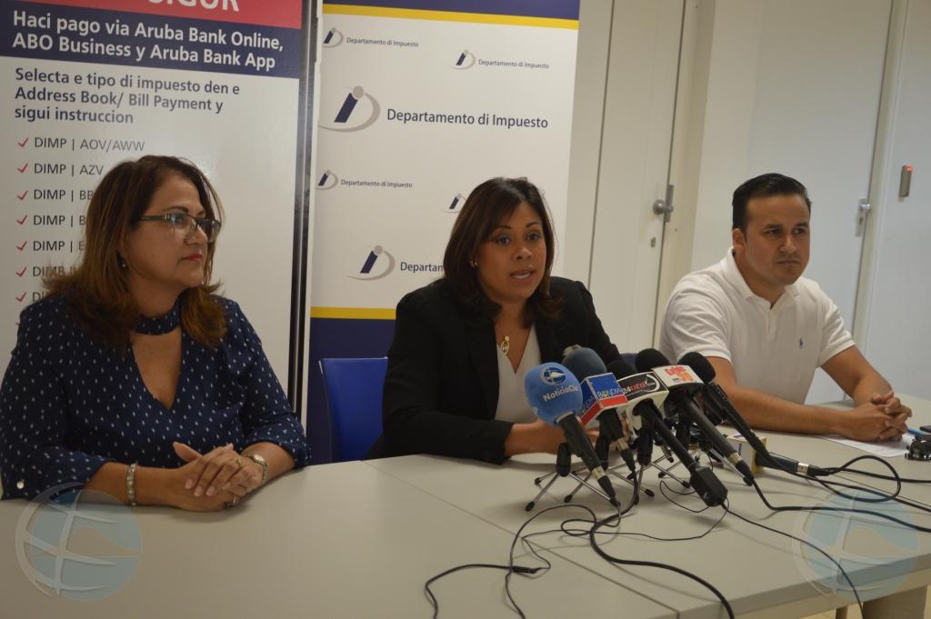 Gomez: A lansa servicio pa paga tur tipo di impuesto 'online'