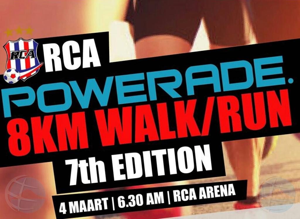 Ruta POWERADE 8K Run & Fun-Walk