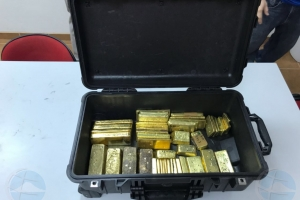 Sospechoso di contrabando di oro ta keda den detencion