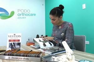 Aruba tin un provedor nobo di sapato ortopedico