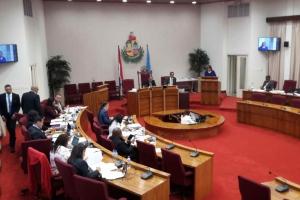 Cantidad record di mocion entrega durante tratamento presupuesto